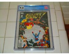 JUSTICE SOCIETY OF AMERICA #1 2007 CGC 9.6 WHITE PAGES 1ST NEW STARMAN