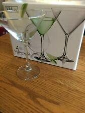 Libbey Midtown Martini Glasses, Set of 4