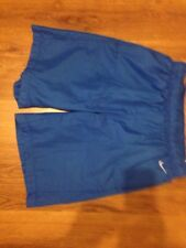 Nike Chicos Pantalones Cortos Azul Talla S