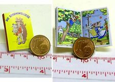 1032# Miniatur Kinderbuch - Struwwelliese - Puppenhaus - Puppenstube - M1zu12