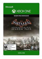 BATMAN Arkham Knight XBOX ONE Season Pass (mai utilizzati in modo Nuovo di Zecca)