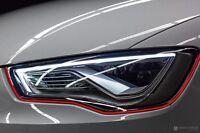 Devil Eye® Scheinwerfer Folie Stripe Aufkleber A3 A4 A5 A6 A7 S Line C6 C7 Style