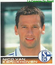 206 NICO VAN KERCKHOVEN BELGIQUE FC SCHALKE 04 STICKER BUNDESLIGA 2001 PANINI