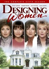 DESIGNING WOMEN COMPLETE SIXTH SEASON 6 New Sealed 4 DVD Set