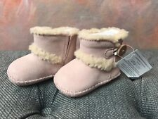 UGG I LEMMY BABY PINK BOOTIES CRIB TODDLER INFANT AUTHENTIC 1018136I