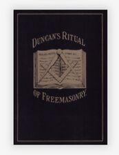 New Freemason Masonic Duncan's Ritual And Monitor