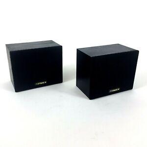 Fisher Rear Surround Speakers 60 Watts Bookshelf Speakers Model WS-R424