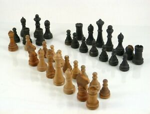 1930s Coca-Cola Replacement Chess Pieces from Game Set by Milton Bradley Hal-Sam