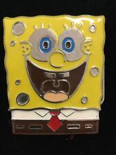 Metal & Enamel SpongeBob SquarePants Belt Buckle