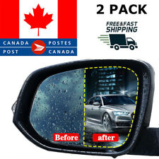 Anti Fog Rainproof Waterproof Rearview Side Car Protective Mirror Film Oval