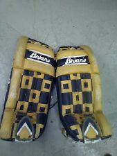 """Brian's SR Ice Hockey Goalie Leg Pads 34"""" Handcrafted in CANADA equipment"""