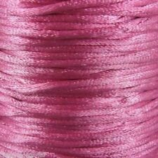 Nylon Drähte, Fäden & Bänder zur Schmuckherstellung-in Pink