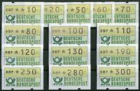 Bund Automatenmarken ATM 1.1 TS 2 sauber postfrisch BRD 1982 Tastensatz 2 MNH