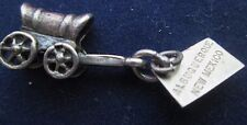 VINTAGE STERLING SILVER ALBUQUERQUE NEW MEXICO STAGE COACH CHARM