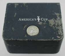 Omega Seamaster America's Cup Blue Leather Inner Watch Box and Pillow #554