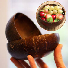 Vintage Natural Coconut Shell Bowl Ice Cream Bowls Creative Art Bowl Handicraft