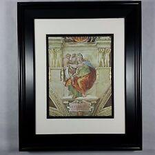 Delphic Sybil by Michelangelo - Sistine Chapel Bible Art Print Matted Framed NEW