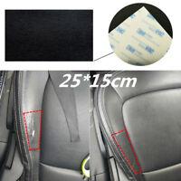 Universal Autositz Flicken Reparatur PU Leder 25x15cm Schwarz selbstklebend 1x