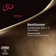 Bernard Haitink, Ludwig van Beethoven - Symphonies Nos 1-9 [New SACD] Hybrid SAC