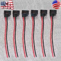 New Pack of 6 Pcs Ignition Coil Connector Harness Pigtail Wire For Kia Toyota