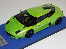 1/18 Looksmart MR Lamborghini 5-95 Zagato in Itacha Green Black