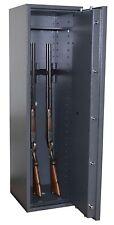 Waffenschrank Gun-Safe 1 1-5 mit Doppelbart-Schloss und 5 Waffenhaltern