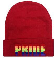 "CUFFED ""PRIDE"" BEANIE Beanies HAT SKULL CAP"