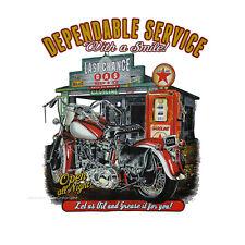 Biker Motorrad T-Shirt classic Harley-Motiv Cruiser Roadhouse *4104 schwarz