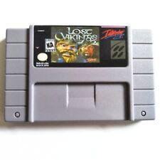 The Lost Vikings 2 SNES Super Nintendo NTSC puzzle platform video game cart