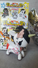 "RARE Tokidoki Unicorno Series 2 SAKURA 2.5"" Vinyl Figure (Discontinued) With Box"