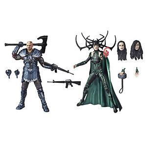 Marvel Legends Thor: Ragnarok 6-Inch-Skurge And Marvel's Hela Figure 2-Pack