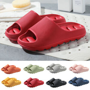 Ladies Womens Ultra Soft Summer Slip On Mule Slides Sliders Sandals Slippers AU