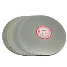 "Grit 60 Diamond coated 6"" inch Flat Lap wheel Lapidary lapping polishing disc"