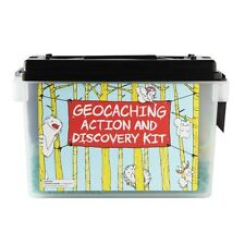 Geocaching action et discovery kit – fun and educational – pleine de petits plaisirs!