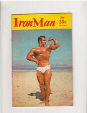 Vintage IronMan Bodybuilding muscle magazine EARL CLARK 1-61
