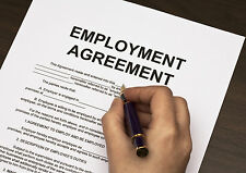 HR Human Resources Employment Employee Contract-full time-fully editable