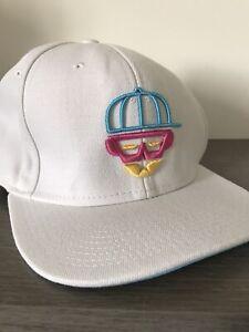 White Diversity snapback baseball cap dance street