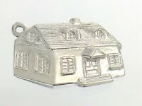AM Vintage House Maison Marked Ster Charm Pendant 2.9g 0.75in Tested Silver J692