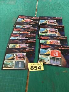 GB 2011 sg ms3142 Thunderbirds 3D Miniature Sheets x 10 Under Face Value £28.60