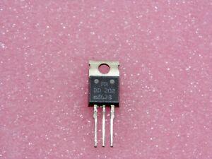 Set x3: Transistor Comics 202 ~ Transistor BD202 Pnp TO220 Si ~ Ic Max 8A