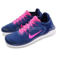 Nike Wmns Free RN 2018 Blue Pink White Women Running Shoes Sneakers 942837-403