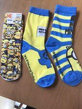 Boys Minion Socks