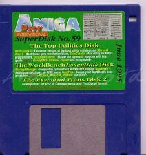 Revista Amiga usuario Internacional-coverdisk-SuperDisk 59 < Mq >