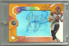 2020 Panini Elements Joe Burrow Rookie Neon Signs Autograph RC #d6/50