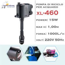 POMPA IMMERSIONE PER RICICLO DELL' ACQUA 1000 L/H PER ACQUARIO MOD xl-460 15 W