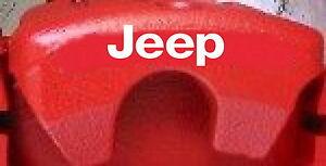 JEEP Brake Caliper Decals (8)