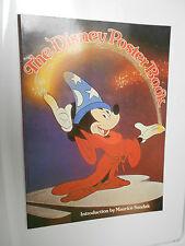 1977 Walt Disney 22 POSTER BOOK Intro Maurice Sendak 11x15 Mickey Mouse VF 8.0