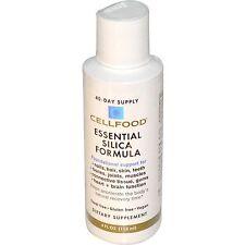 Cellfood Essential Silica Formula 4oz Bottle by Lumina Health