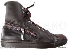 $980 Cesare Paciotti US 6 Shearling Deer Skin Ankle Boots Italian Shoes
