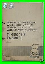 CAGIVA manuale d'officina T4-350/R-E T4-500/E